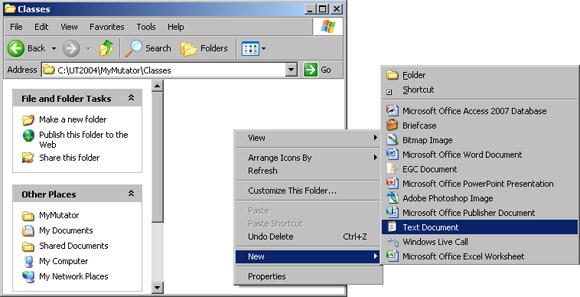 File Setup