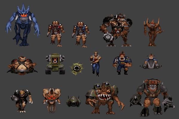 Duke Nukem Monsters - Iniquitous - Unreal