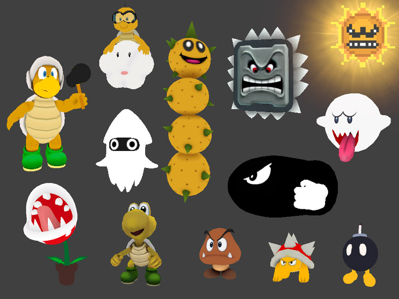 Mario Monster Pack 1 preview