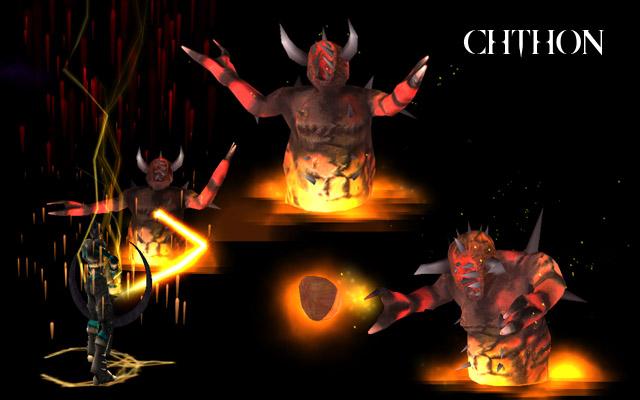 Quake Monsters - Iniquitous - Unreal Quake Chthon