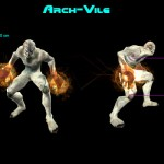 Arch-Vile Monster Preview