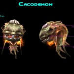 Cacodemon Monster Preview